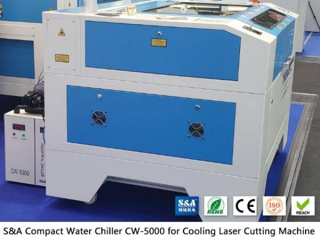 Water Chiller CW5000 for Non Metals Laser Cutters - 1/2