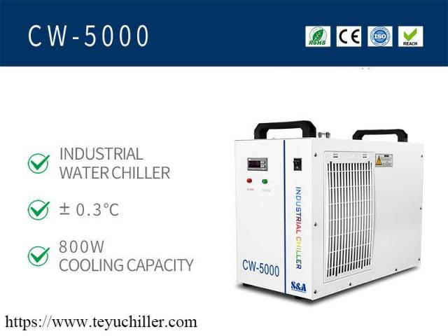 Water Chiller CW5000 for Non Metals Laser Cutters - 2/2